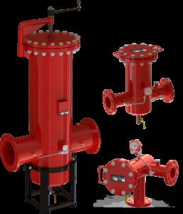 Фильтр газовый стальной РЕД